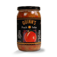Gourmet Peach Salsa - Habañero Peppers, Peaches, Ginger, Sweet Onions - by Quinn's (Pack of 3)