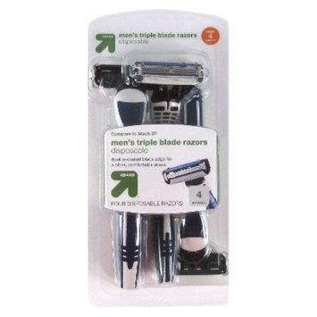 up & up 4 ct Disposable Razors
