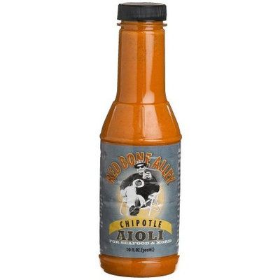 Red Bone Alley Chipotle Aioli, 10-Ounce Bottles (Pack of 6)