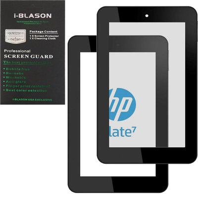A-1 Advanced Structural Systems, Inc. HD Reusable Matte Bubble-Free Screen Protector for HP Slate 7, Clear