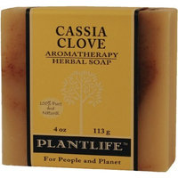 Plantlife Cassia Clove 100% Pure & Natural Aromatherapy Herbal Soap 4 oz 113g