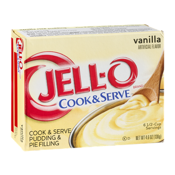 JELL-O Cook & Serve Pudding & Pie Filling Vanilla
