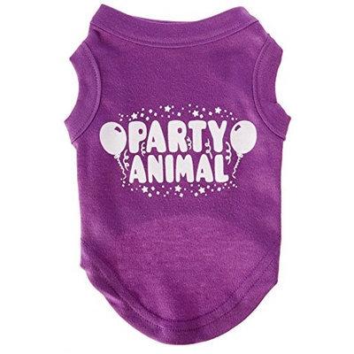 Ahi Party Animal Screen Print Shirt Purple Sm (10)