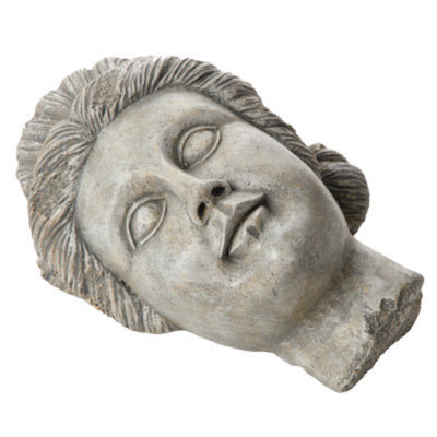 National GeographicTM Roman Face Aquarium Ornament