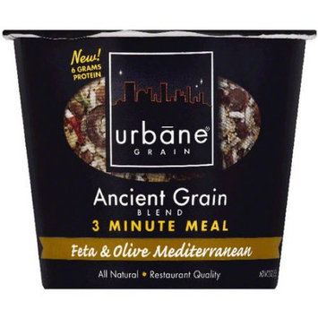 Urbane Grain Ancient Grain Blend Feta & Olive Mediterranean 3 Minute Meal, 2 oz, (Pack of 6)