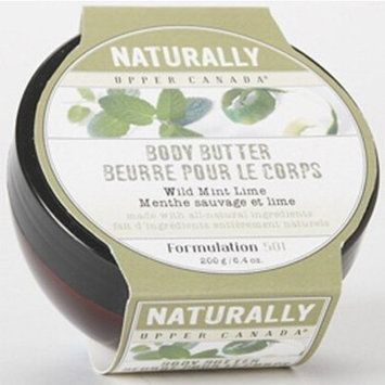 Naturally Mint Lime Body Butter 7 Ounces