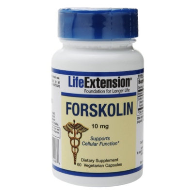 Life Extension Forskolin 10mg, Vegetarian Capsules