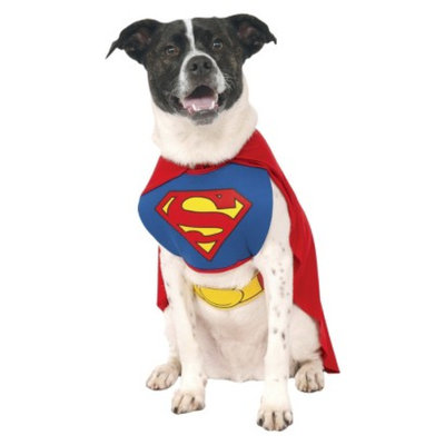 DC Comics Superman Pet Costume - Large