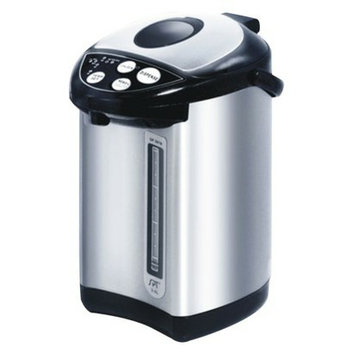 Sunpentown Hot-Water Dispensing Pot - Stainless Steel/ Black