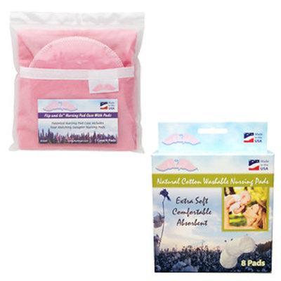 Nuangel, Inc. NuAngel Flip and Go Pink Nursing Pad Case
