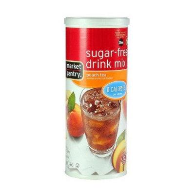 market pantry Market Pantry Sugar-Free Peach Tea Drink Mix 1.5-oz.