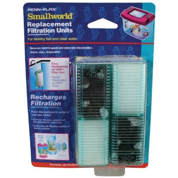 Penn-plax Small World® Filter Units & Replacement Cartridges for Small Tanks