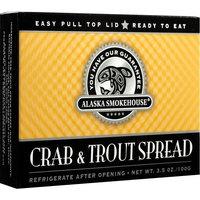 Alaska Smokehouse Crab & Trout Spread Checker Design, 3.5 Ounce Boxes (Pack of 6)