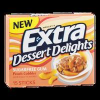 Wrigley's Extra Dessert Delights Sugarfree Gum Peach Cobbler