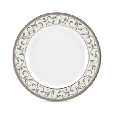Lenox Opal Innocence Silver Appetizer Plate