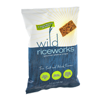 Riceworks Wild Gourmet Wildrice Crisps