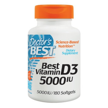 Doctor's Best Vitamin D3 5000 IU