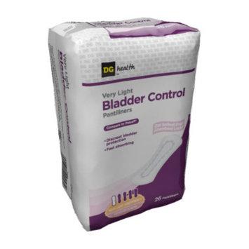 DG Health Bladder Control Pantiliners - Very Light - 26ct