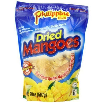 Phillippine Brand Philippine Brand Dried Mangoes, 20 Ounce