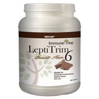 Immune Tree LeptiTrim6 Chocolate Meal Replacement Protein Shake