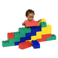 Serec Entertainment Kids Adventure Jumbo Blocks Beginner Set - 24 Piece