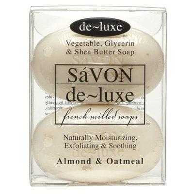 de-luxe SaVON Bar Soap Almond & Oatmeal
