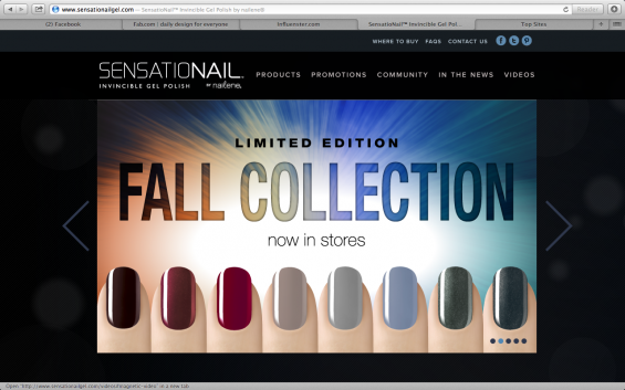 Sensationails Nail Polish