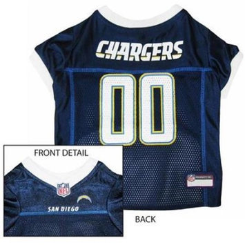 Pets First SDCJ-XS San Diego Chargers NFL Dog Jersey - Extra Small
