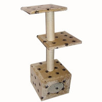 TMS Wholesale, INC. Cat Tree Condo House w/ Scratching Post