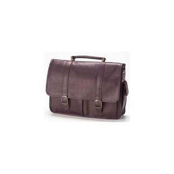 Clava 1156 Laptop Briefcase - Vachetta Cafe