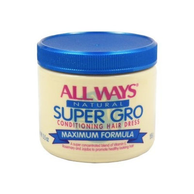 All ways natural super gro conditioning hair dress to promote healthy hair and growth - 5.5 oz