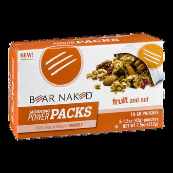 Bear Naked Morning Power Packs Fruit & Nut - 5 CT