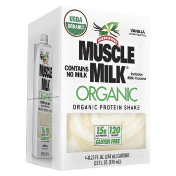 Muscle Milk Organic Vanilla Protein Shake - 33 oz