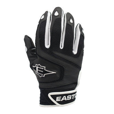 Cycle Products Co. Easton React Batting Glove Adult XL Black/Red - CYCLE PRODUCTS CO.