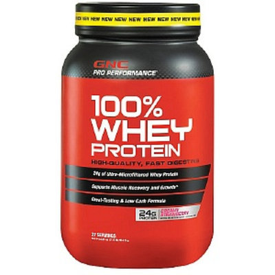 Gnc GNC Pro Performance(r) 100% Whey Protein Creamy Strawberry