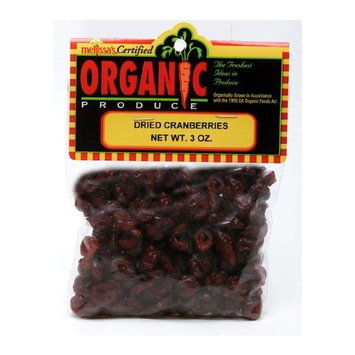 Melissa's Dried Cranberries, 3 oz (United States)