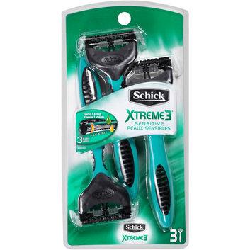 Schick Xtreme3 Sensitive Disposable Disposable Razors