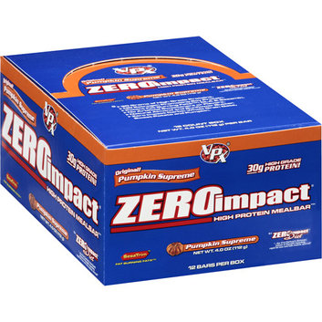 Zero Impact Pumpkin Supreme High Protein Meal Replacement Bars