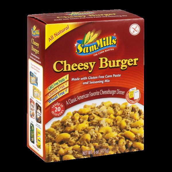 Sam Mills Cheesy Burger