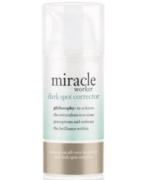 philosophy the miracle worker dark spot corrector