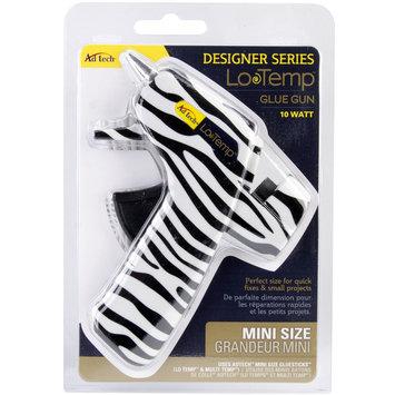 Ad-tech Designer Mini Glue Gun-Low Temp Zebra