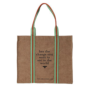 apple & bee Eco Shopping Bag