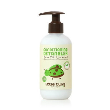 Little Twig Conditioning-Detangler, Extra Mild Unscented, 8.5 Ounce
