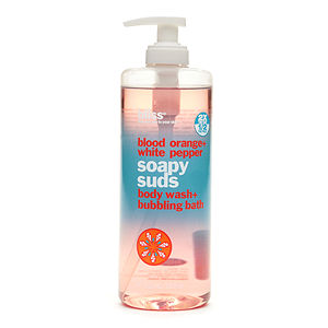 Bliss Blood Orange + White Pepper Soapy Suds Body Wash + Bubbling Bath