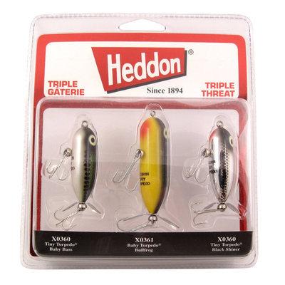 Heddon Triple Threat Kit