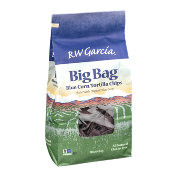 RW Garcia Tortilla Chips Blue Corn Big Bag