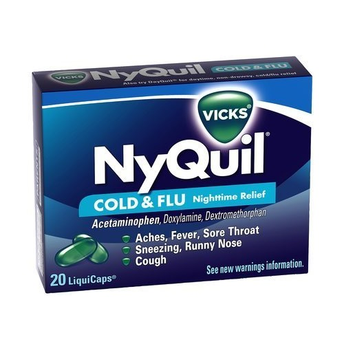 Nyquil Liquicaps (Pse Free)