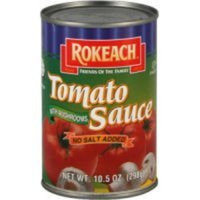Rokeach Tomato Sauce with Mushrooms, 10.5 Fluid Ounce -- 24 per case.