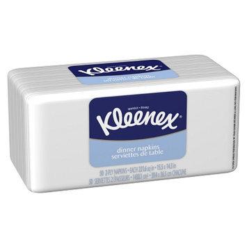 Kleenex Dinner Napkins White Poly 50
