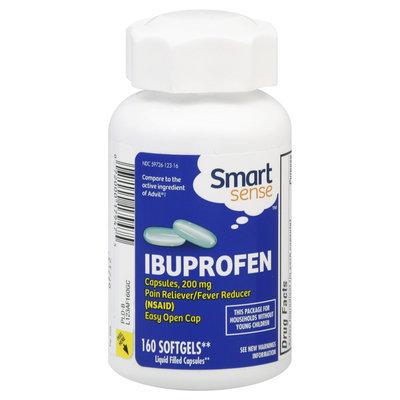 Kmart Corporation Smart Sense Ibuprofen, 200 mg, Softgels, 160 softgels